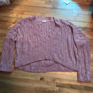Urban Outfitters soft pale pink sweater